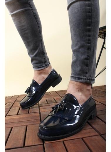 Oksit Ayakkabı Lacivert